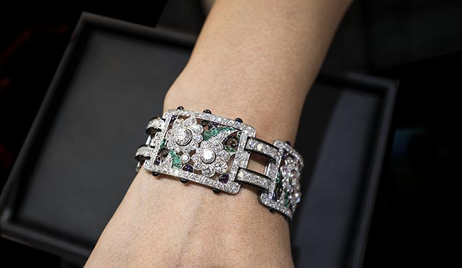 An Art Deco Bracelet by Marcus from the Faerber Collection