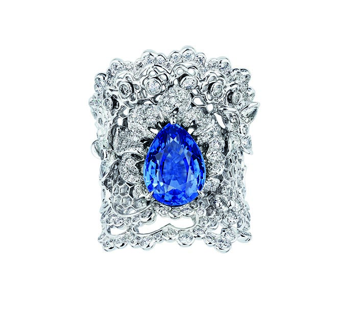 Victorie de Castellane for Dior ring