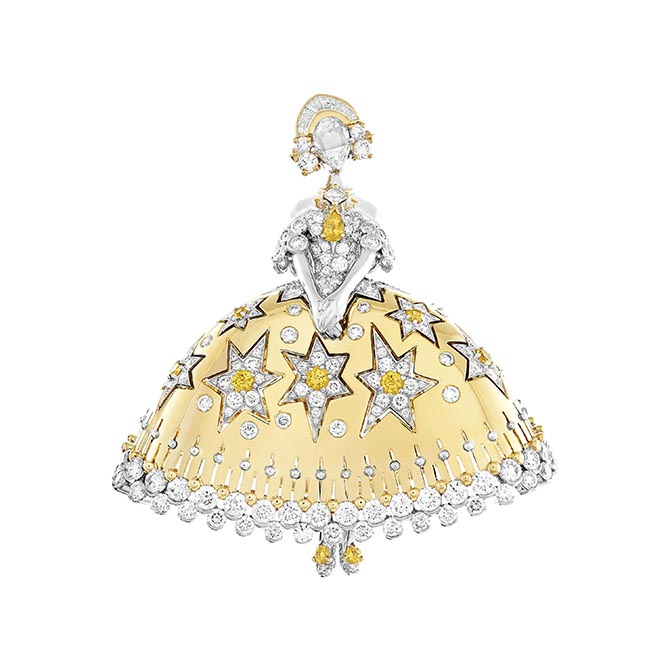 Van Cleef & Arpels dancing brooch from the Grimm's Fairy Tale Collection