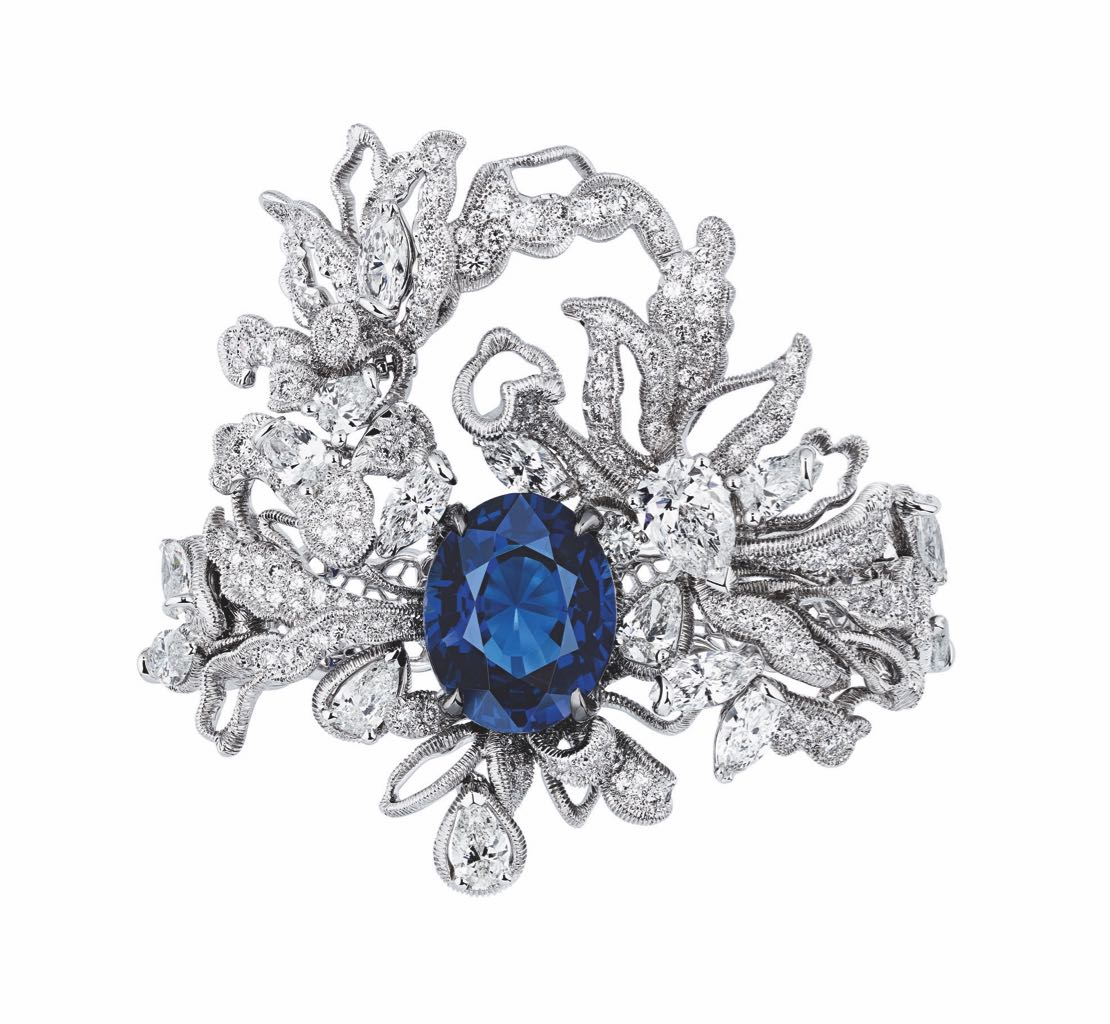 Dior JINT93039 - DENTELLE GUIPURE RING (1)