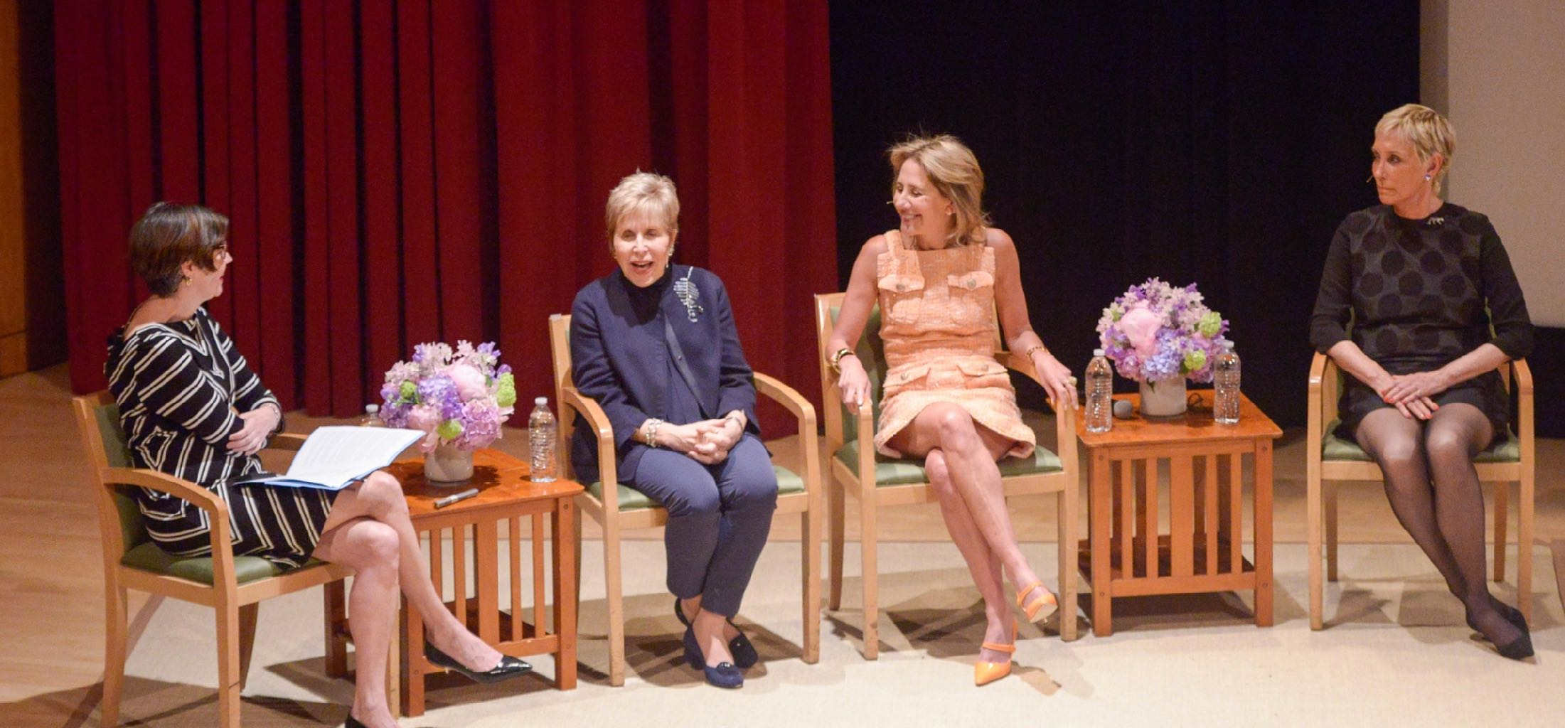 """Women and the Critical Eye: The Art of Jewelry,"" a conversation at the Metropolitan Museum of Art included curator Melanie Holcomb, collectors Laurie Ann Goldman, Milly Glimcher and jewelry professional Lisa Hubbard. Photo © The Metropolitan Museum of Art, New York"