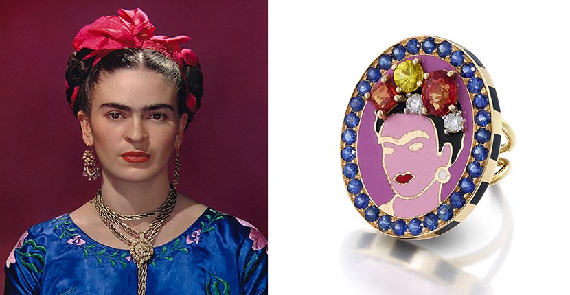The Adventurine Posts Frida Kahlo's Style Is All Over Jewelry Now