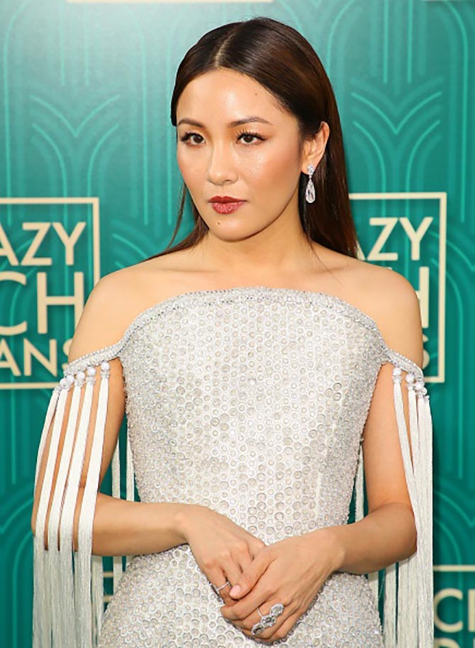 Constance Wu in over $7-million in Lorraine Schwartz diamonds