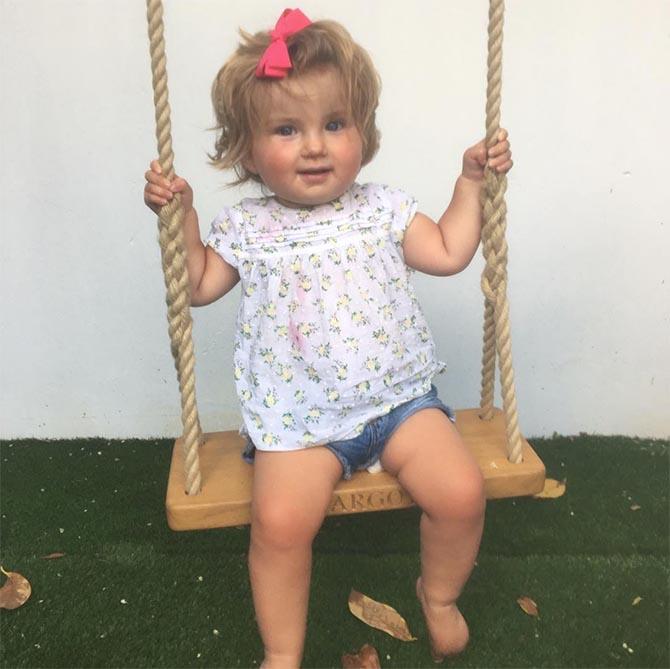 Sophie's daughter Margot featured on her Instagram. Photo @sophielouisequy/Instagram