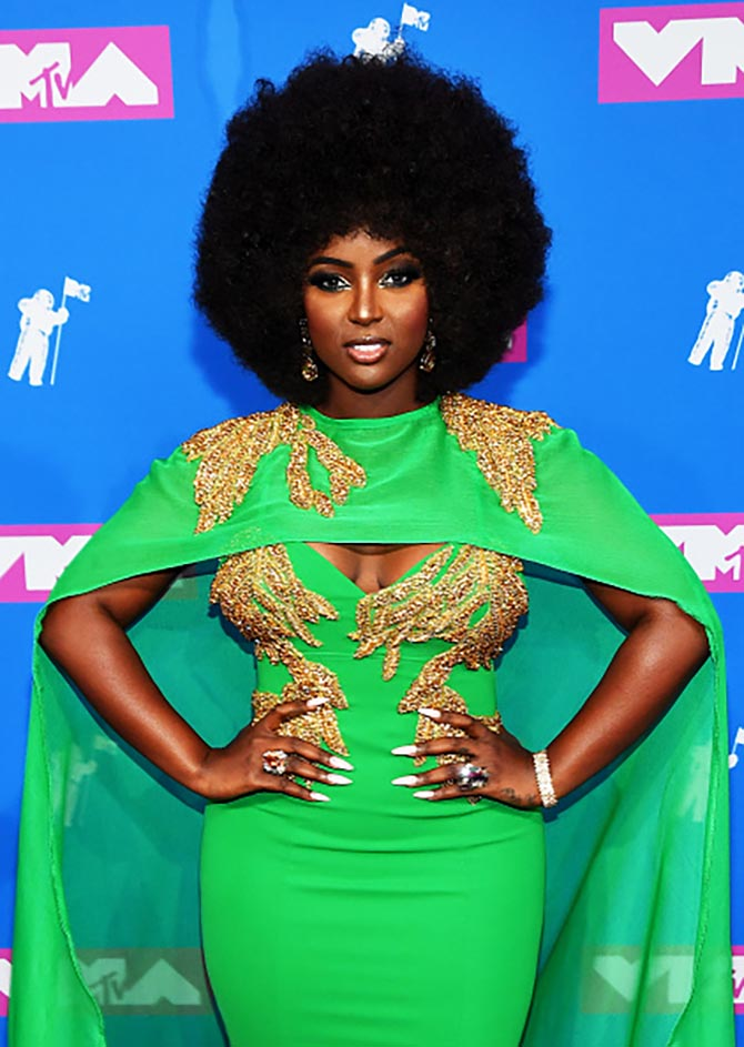 Amara La Negra at the MTV VMAs