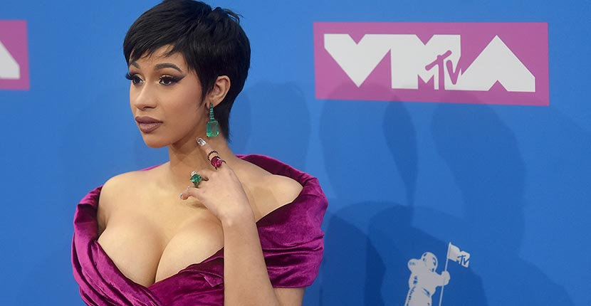 The Adventurine Posts The Over-the-Top Jewelry at the 2018 VMAS