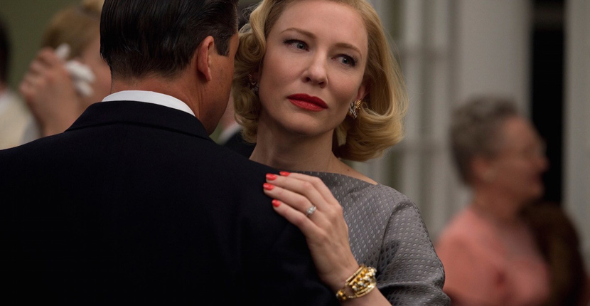 Cate Blanchett wearing a vintage Van Cleef & Arpels bracelet in 'Carol.' Photo Alamy