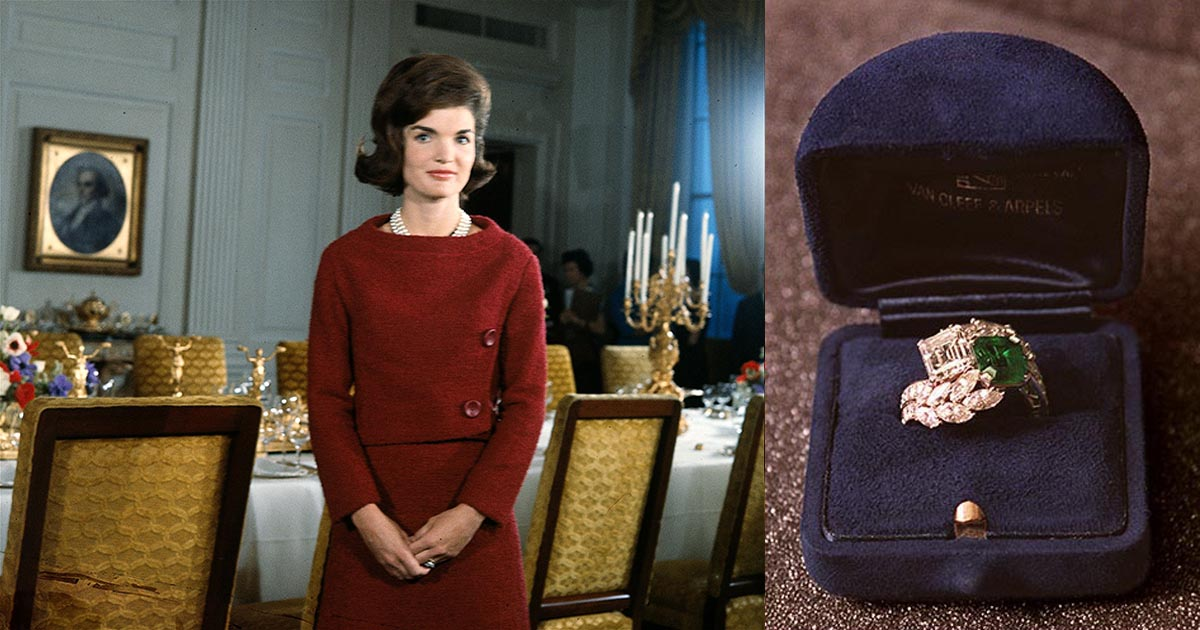 Jackie Kennedy Redesigned Her Engagement Ring The Adventurine