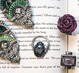 The AdventurinePostsThe Author Who Uses Real Jewels in Her Fiction