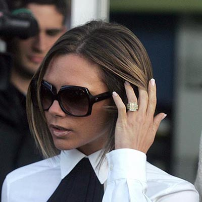 The Adventurine Posts Victoria Beckham Has 14 Engagement Rings!