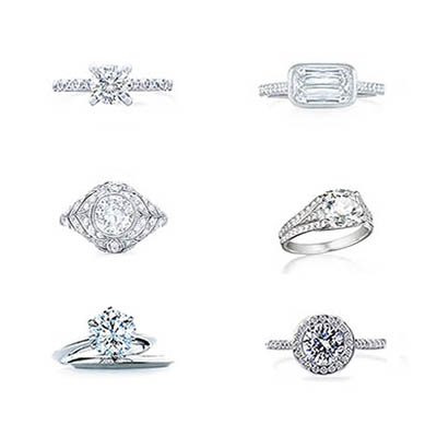 The Adventurine Posts 40 Fabulous Platinum Engagement Rings