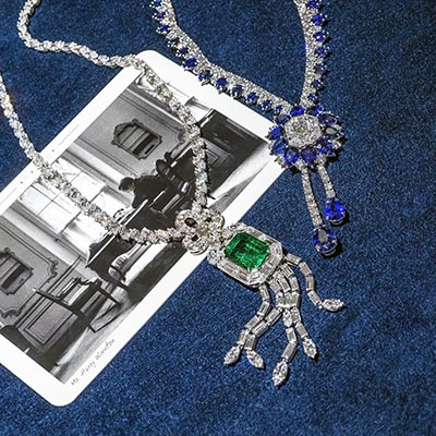 The Adventurine Posts Jewels Celebrating Harry Winston's New York