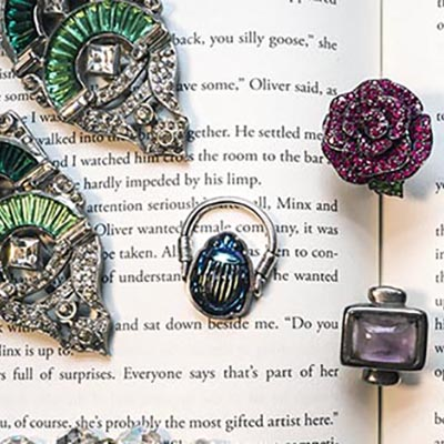 The Adventurine Posts The Author Who Uses Real Jewels in Her Fiction