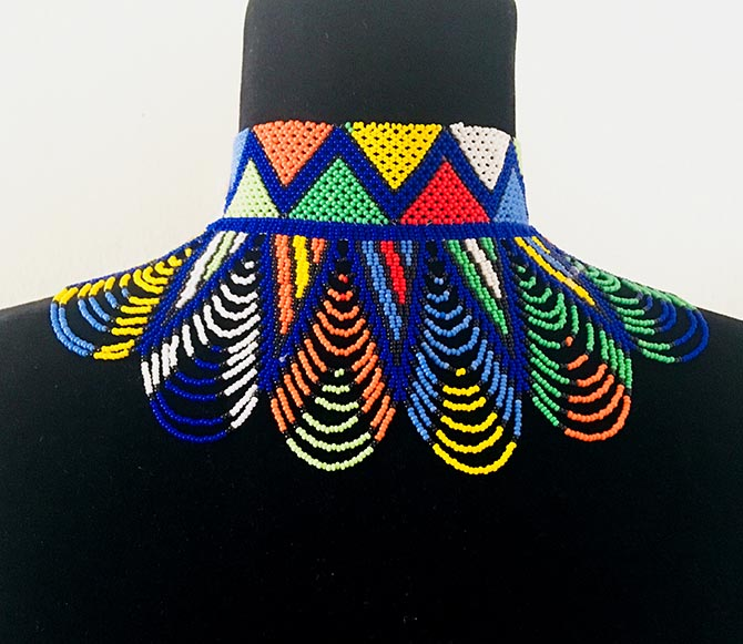 House of Yimama bead necklace Photo courtesy