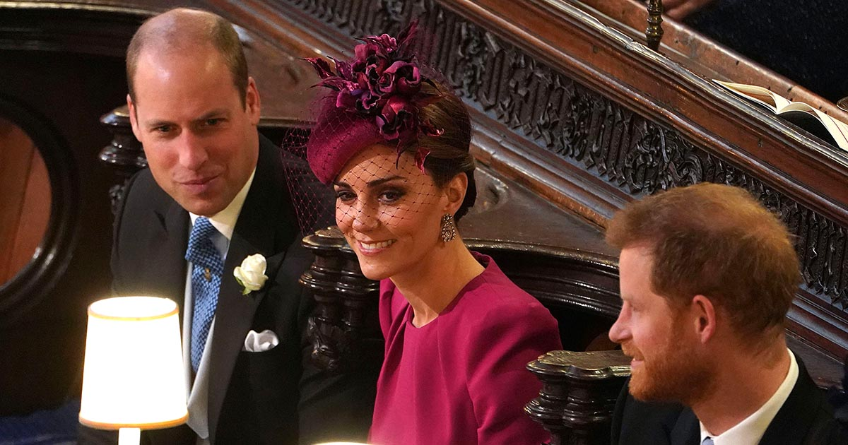 The royal and celebrity guests sparkled plenty at Princess Eugenie's wedding to Jack Brooksbank. Similar to Meghan and Harry's wedding, diamonds were the number one gem of choice. Earrings were most popular type of jewelry at the event, but the Queen as per usual wore a brooch and so did the bride's sister Princess Beatrice. Naomi Campbell lit up her black and white ensemble with a diamond sensational diamond choker. See the best looks below. Kate Middleton wore the antique diamond earrings from the Queen's collection that she puts on for so many royal family affairs.