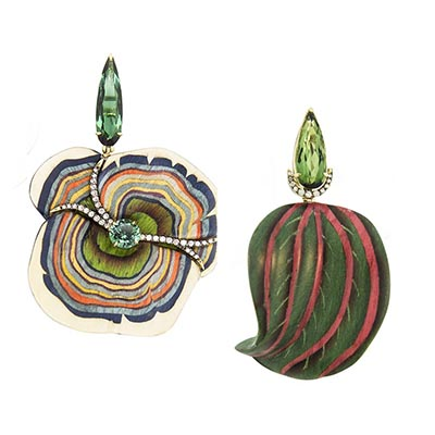 The Adventurine Posts Silvia Furmanovich's Amazing Marquetry Jewels