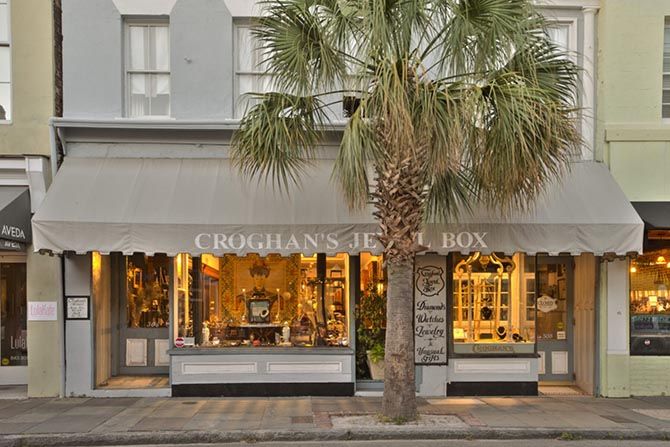 The exterior of Croghan's Jewel Box in Charleston, South Carolina Photo Rich Rhodes