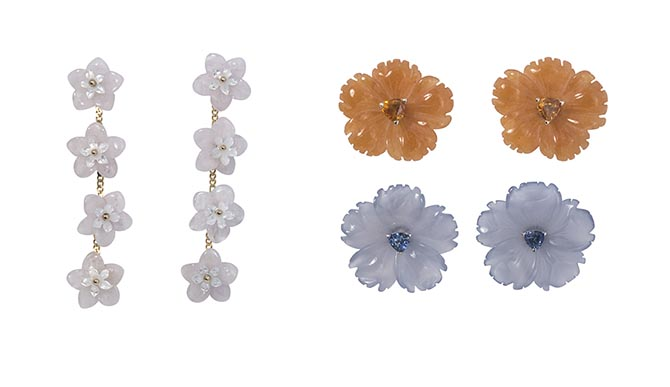 Croghan's flower earrings Photo courtesy