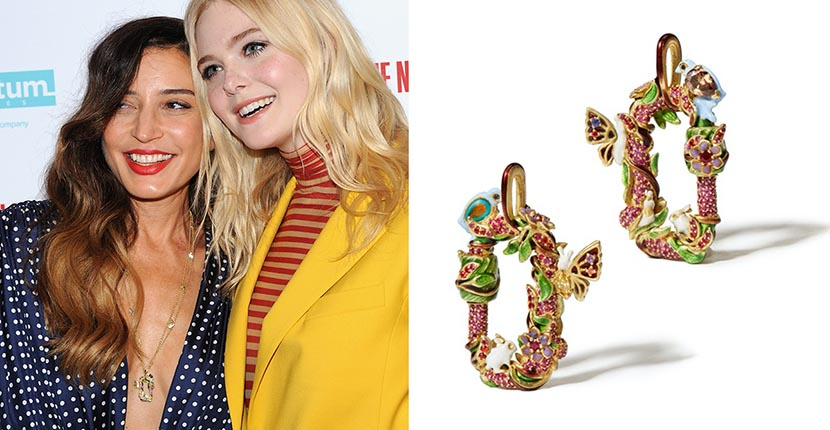 The Adventurine Posts Why Elle Fanning Wore Her Director's Fave Jewel