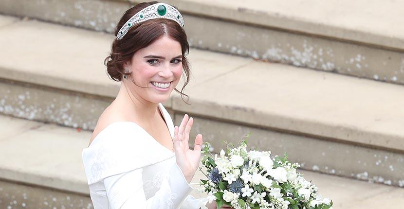 The AdventurinePostsPrincess Eugenie's Tiara and Wedding Jewels