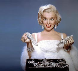 The Adventurine Posts The Golconda Diamond Marilyn Monroe Made Famous