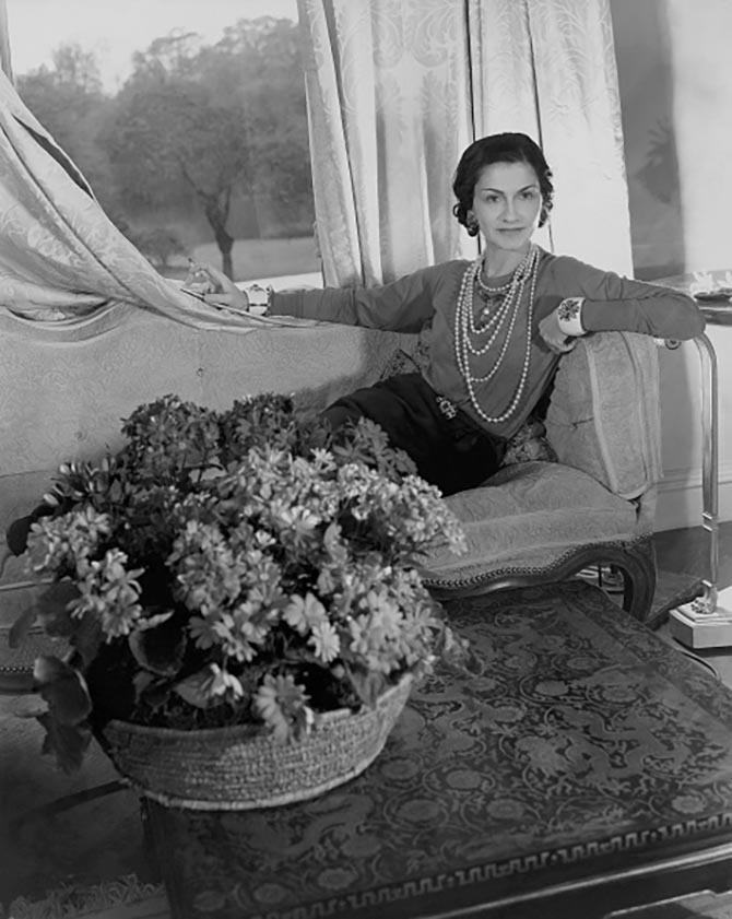 Coco Chanel, in London, ca. 1938. (Photo by Cecil Beaton/Condé Nast via Getty Images)