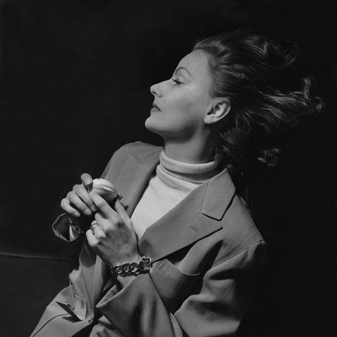 Greta Garbo wearing her Verdura bracelets for a 1946 sitting with Cecil Beaton. Photo Conde Nast Archives via Getty