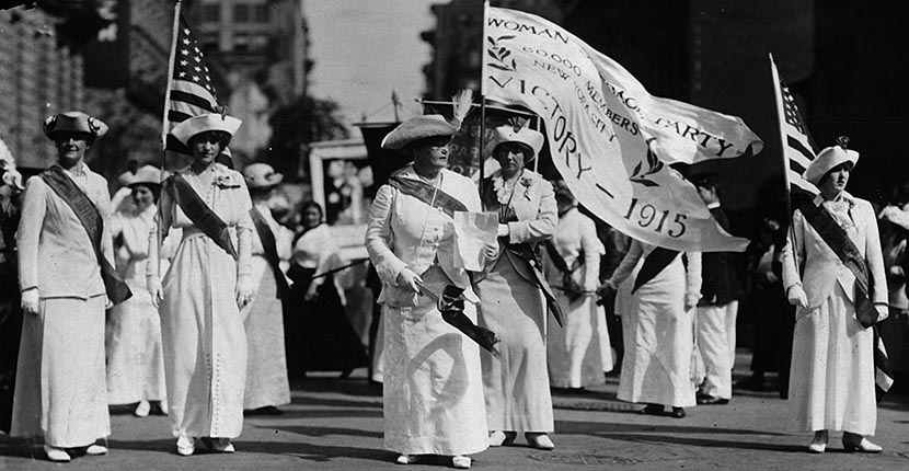 The Adventurine Posts The Gold Wreath of a New York Suffragist