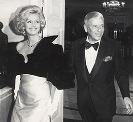 The Adventurine Posts Barbara Sinatra's Engagement Ring Is Giant
