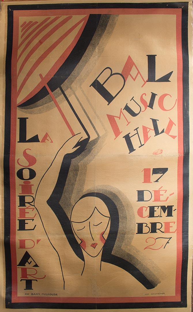 Jean Schlumberger, Poster, 1927 Photo Tiffany & Co. Archives