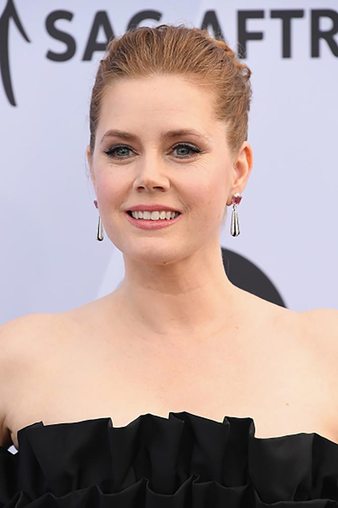 Amy Adams in Cartier at the SAG Awards