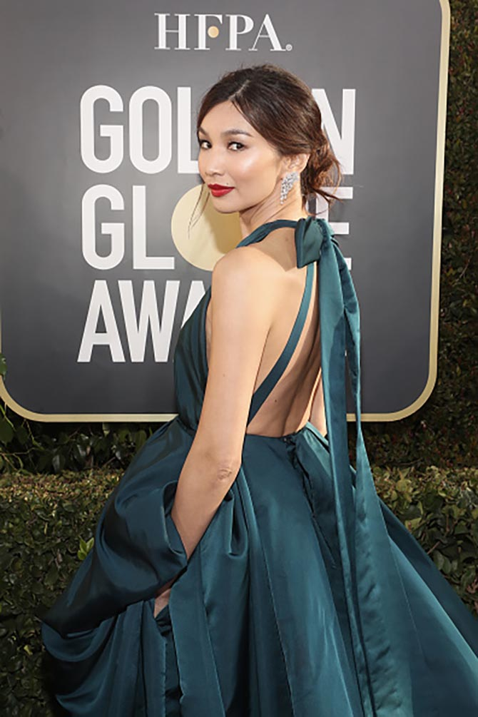 Gemma Chan wore Forevermark Wonderlight Diamond Earrings.