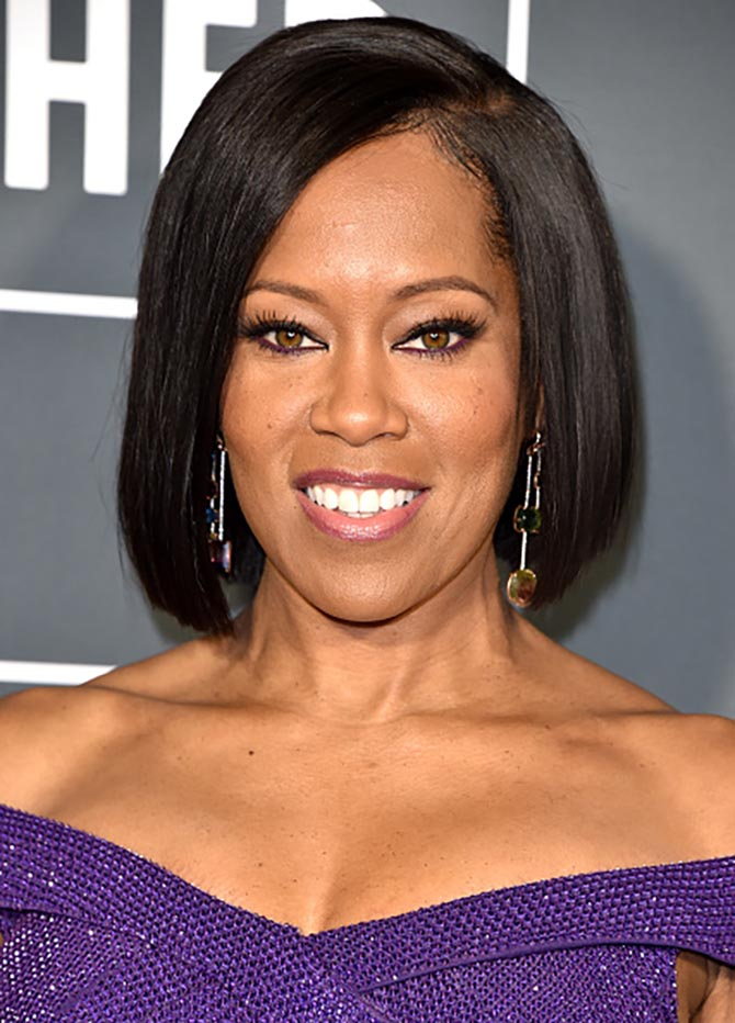 Regina King wore Irene Neuwirth earrings at the Critics' Choice Awards