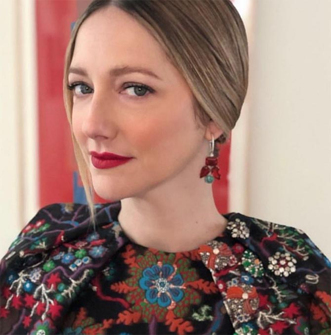 Judy Greer mixed gem Irene Neuwirth Earrings