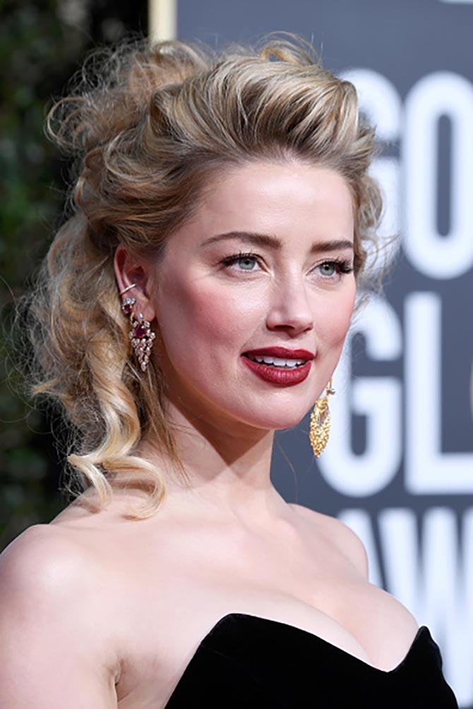 Amber Heard's earrings