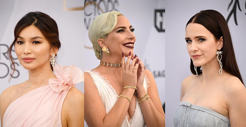 The Adventurine Posts The Best Jewelry at the 2019 SAG Awards
