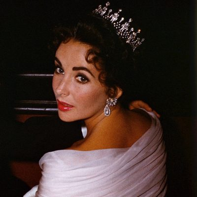 The Adventurine Posts Elizabeth Taylor Wore Her Tiara A Lot in 1957