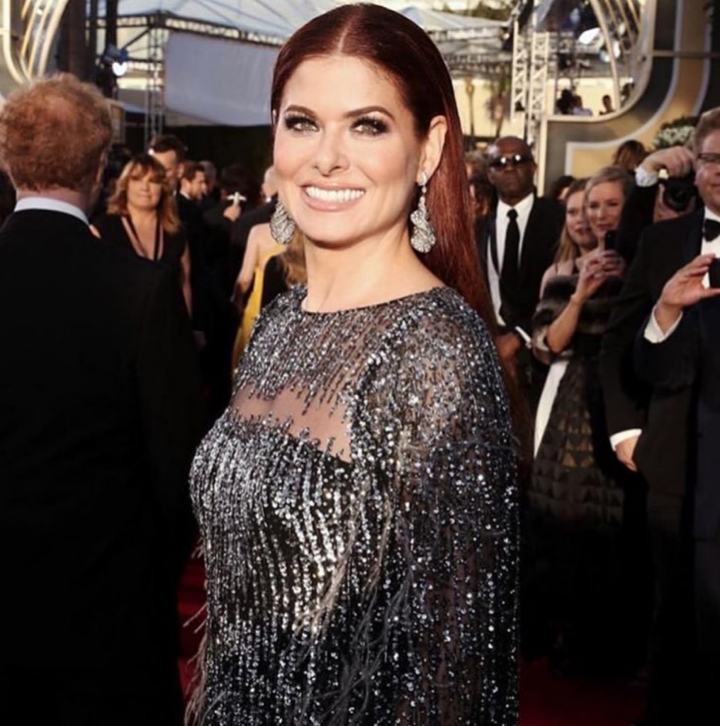 Debra Messing wore earrings by SABBA