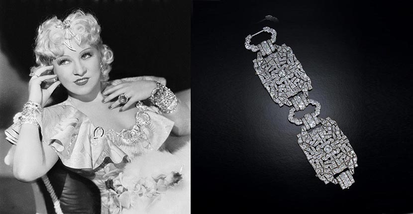 The AdventurinePostsThe Love Story Behind Mae West's Jewels