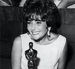 The Adventurine Posts Elizabeth Taylor's Earrings at the 1961 Oscars