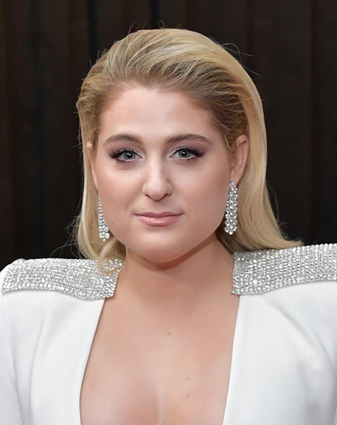 Meghan Trainor wore diamond jewelry by Forevermark
