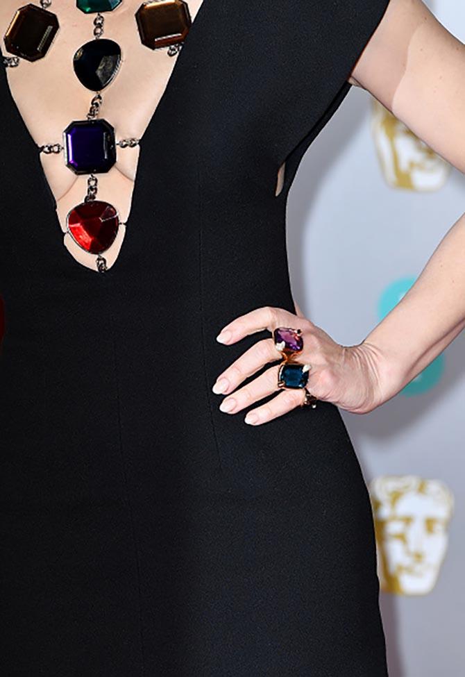 Cate Blanchett Jewelry Detail