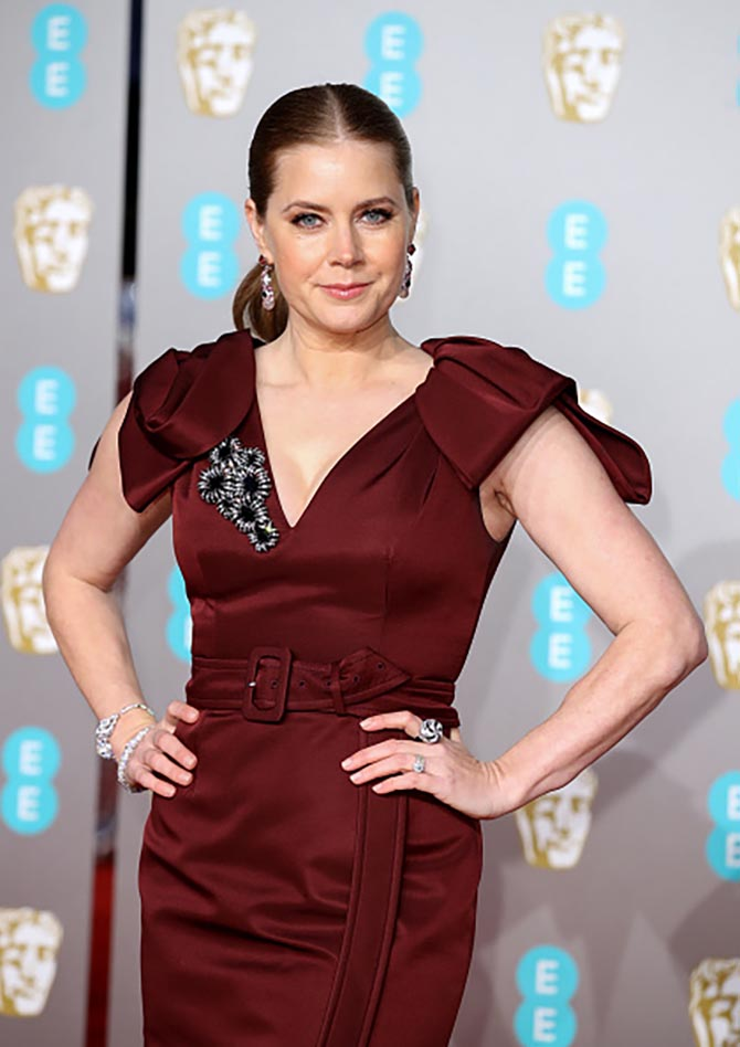 Amy Adams wore Cartier jewelry at the BAFTAs