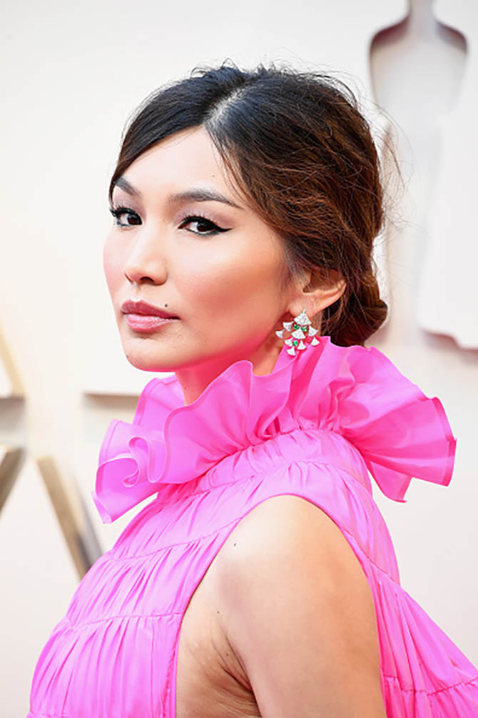 Gemma Chan in Bulgari