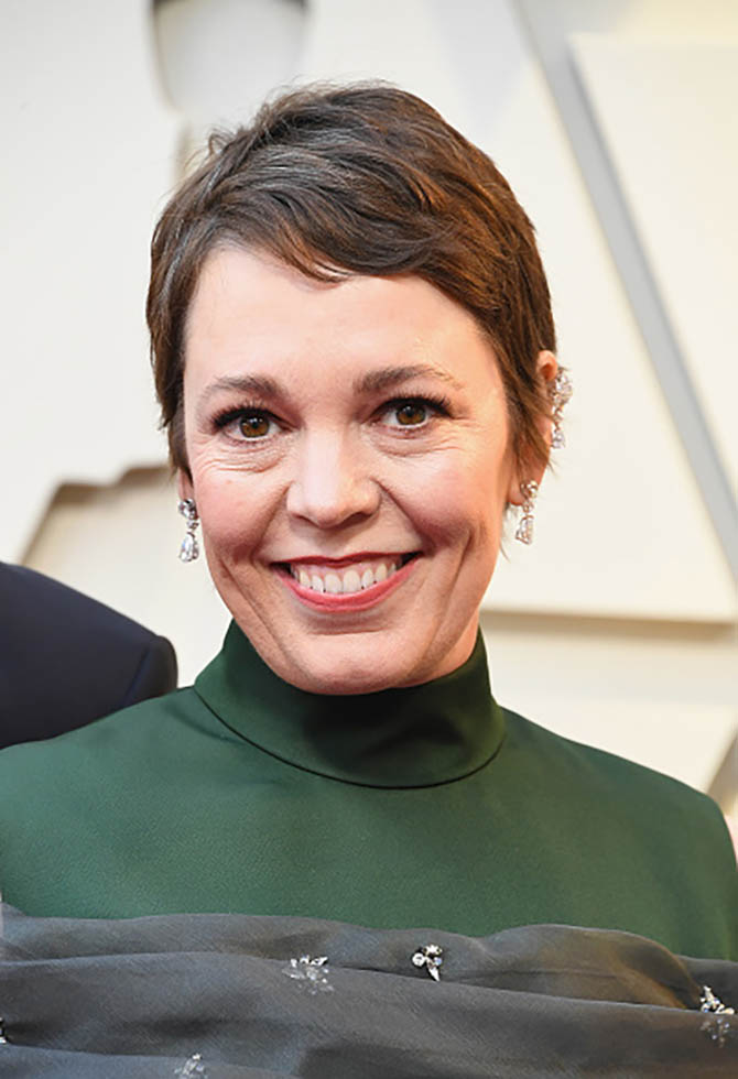 Olivia Coleman wore Chopard