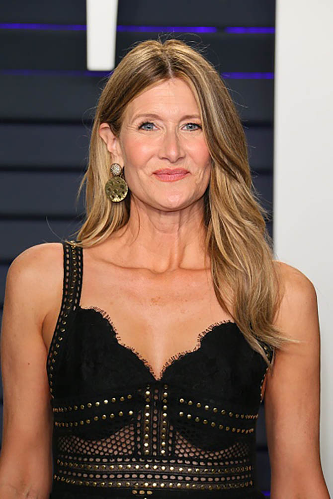 Laura Dern wore earrings by Vram