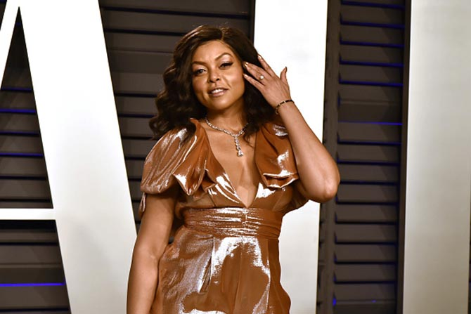 Taraji P. Henson wore a diamond jewels by Gismondi.