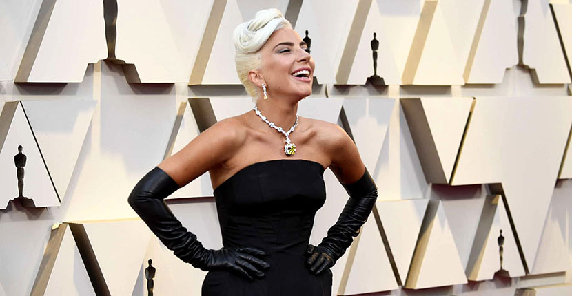 The Adventurine Posts Lady Gaga Wears the 128-Carat Tiffany Diamond