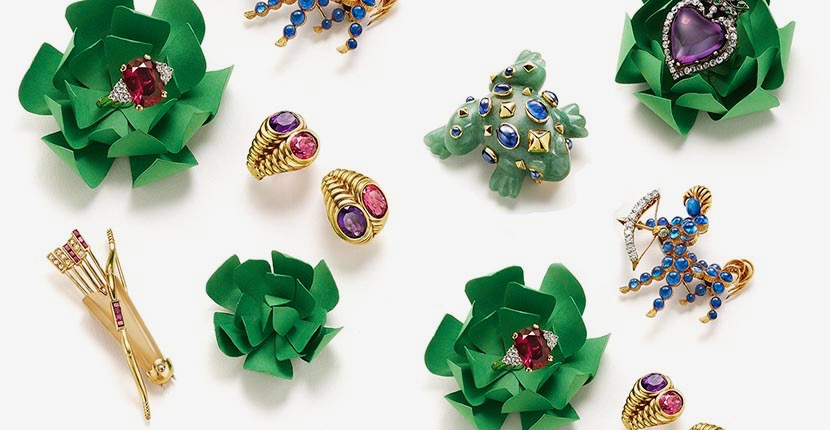 The Adventurine Posts At Christie's: Jewelry Love Is In The Air
