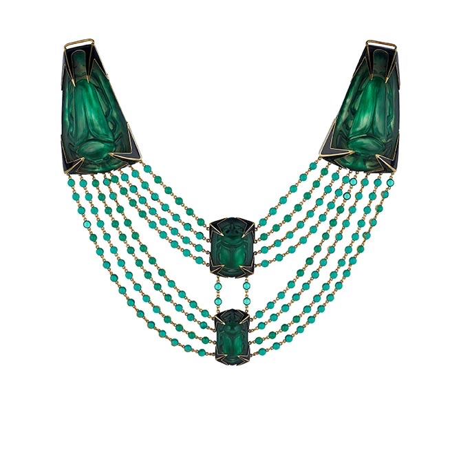 Vintage Lalique necklace from Wartski Photo courtesy
